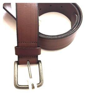 Men's Brown Goodfellow & Co. Genuine Leather Belt